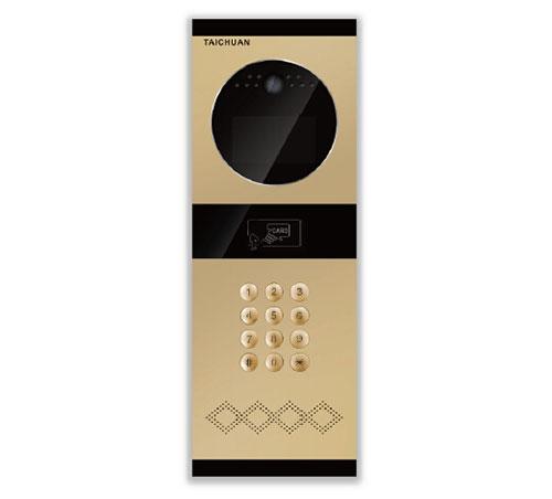 TC-2000+D-K可视楼宇对讲单元门口机