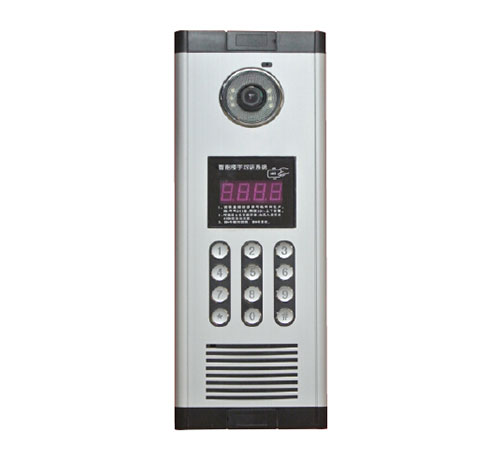 1000系列可视楼宇对讲门口机1100D-6E款